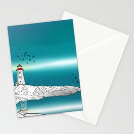Peggy's Point Lighthouse Stationery Cards