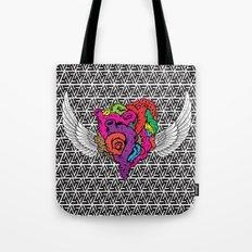 Flying Heart Tote Bag