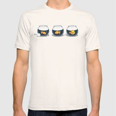 Prepared Fish SMALL Natural Mens Fitted Tee