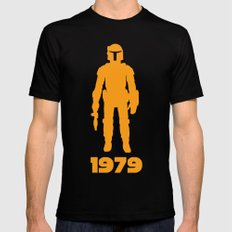 1979 Mens Fitted Tee Black LARGE