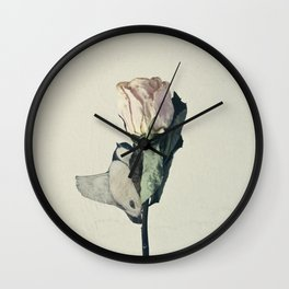 flowerbird Wall Clock