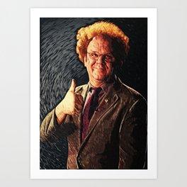 Dr. Steve Brule Art Print