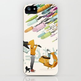 Spring Bullets iPhone Case