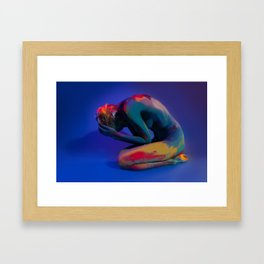 Depth of Emotions Framed Art Print