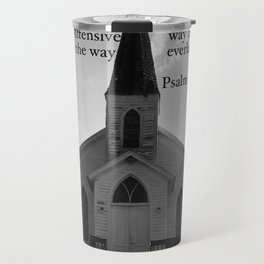 Church with a Prayer Travel Mug