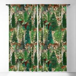 Woodland Wildlife Blackout Curtain