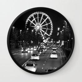 Champs-Élysées Wall Clock