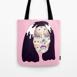 Allergic to flowers Tote Bag