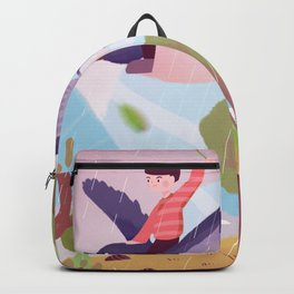 Fly Bird And Children Backpack