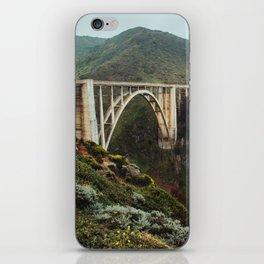 Bixby Bridge | Big Sur California Highway Ocean Coastal Travel Photography iPhone Skin