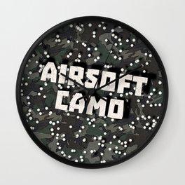 Airsoft Camo Wall Clock