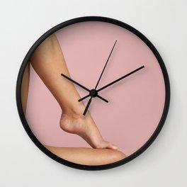 Beautiful Woman Legs Wall Clock