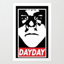 Dobey Art Print