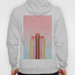 The Pastel Building (Color) Hoody