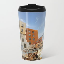 The Ray and Maria Stata Center Metal Travel Mug