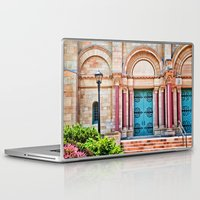 college Laptop & iPad Skins featuring Finney Chapel, Oberlin College. by Mary Timman