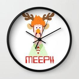 Meep Meep! Wall Clock