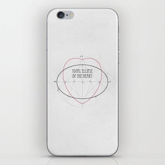 Total Ellipse of the Heart iPhone & iPod Skin