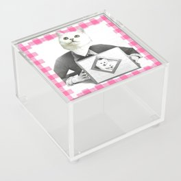 Proud Mumma handcut collage Acrylic Box