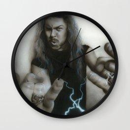 'JamesHetfield' Wall Clock