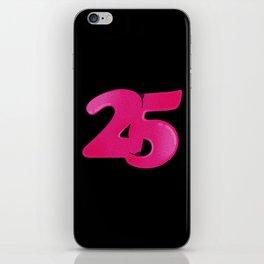 25 iPhone Skin