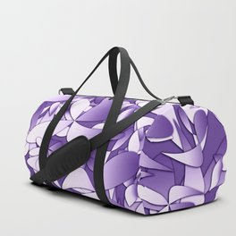 Pattern violet 211 Duffle Bag