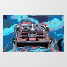 Back to the Future 2 (BTTF 2) Rug