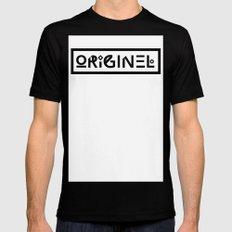 Originel noir Black MEDIUM Mens Fitted Tee