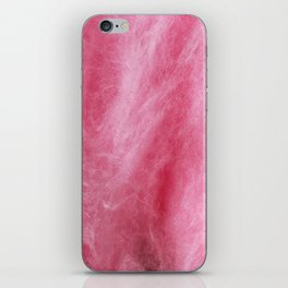 Pink Cotton Candy iPhone Skin