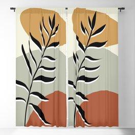 floral art prints Blackout Curtain