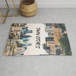 Twin Cities Minneapolis and Saint Paul Minnesota Rug