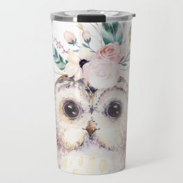 Forest Owl by Nature Magick Travel Mug
