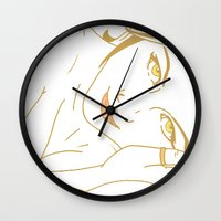 lord of the ring Wall Clocks featuring Ring by AnnaCas