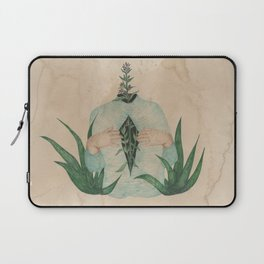 Hyssop and Aloe Vera Laptop Sleeve