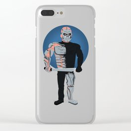 Uber Jason Voorhees (Jason X) Clear iPhone Case