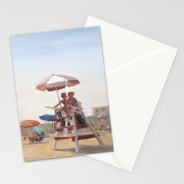 Cape May Lifeguards Stationery Cards