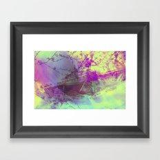 dreamboat Framed Art Print