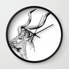 Kudo Bull Wall Clock