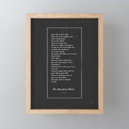 The Laughing Heart II Framed Mini Art Print