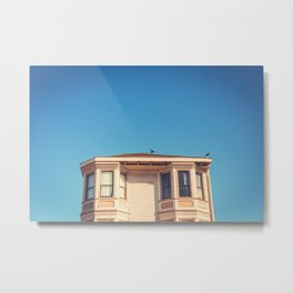 House in San Francisco Print Metal Print