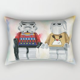 Troopers Christmas Jumper Day at Work Lego  Rectangular Pillow