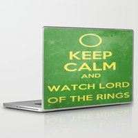 the lord of the rings Laptop & iPad Skins featuring Lord of the Rings by MeMRB
