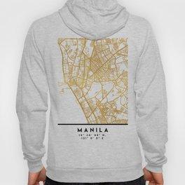 MANILA PHILIPPINES CITY STREET MAP ART Hoody