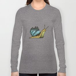 Snail City Long Sleeve T-shirt