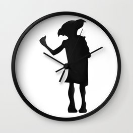 Magic cute Elf Wall Clock