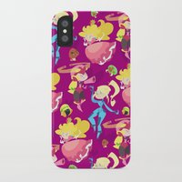 foo fighters iPhone & iPod Cases featuring Cute Fighters by AnnaMaria Coppi