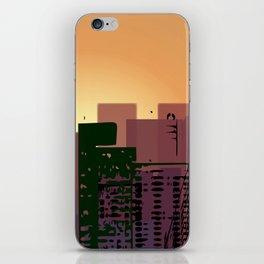 Sunset over San Francisco iPhone Skin
