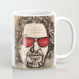 """The Dude Abides"" featuring The Big Lebowski Coffee Mug"