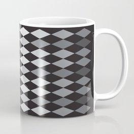 Argyle Pattern- Smaller Diamonds Coffee Mug