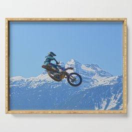 Revelstoke Ride - MotoX Racing in British Columbia Serving Tray
